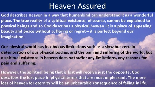 Heaven assured